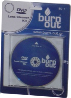 DVD CLEANER BURN OUT BO-1
