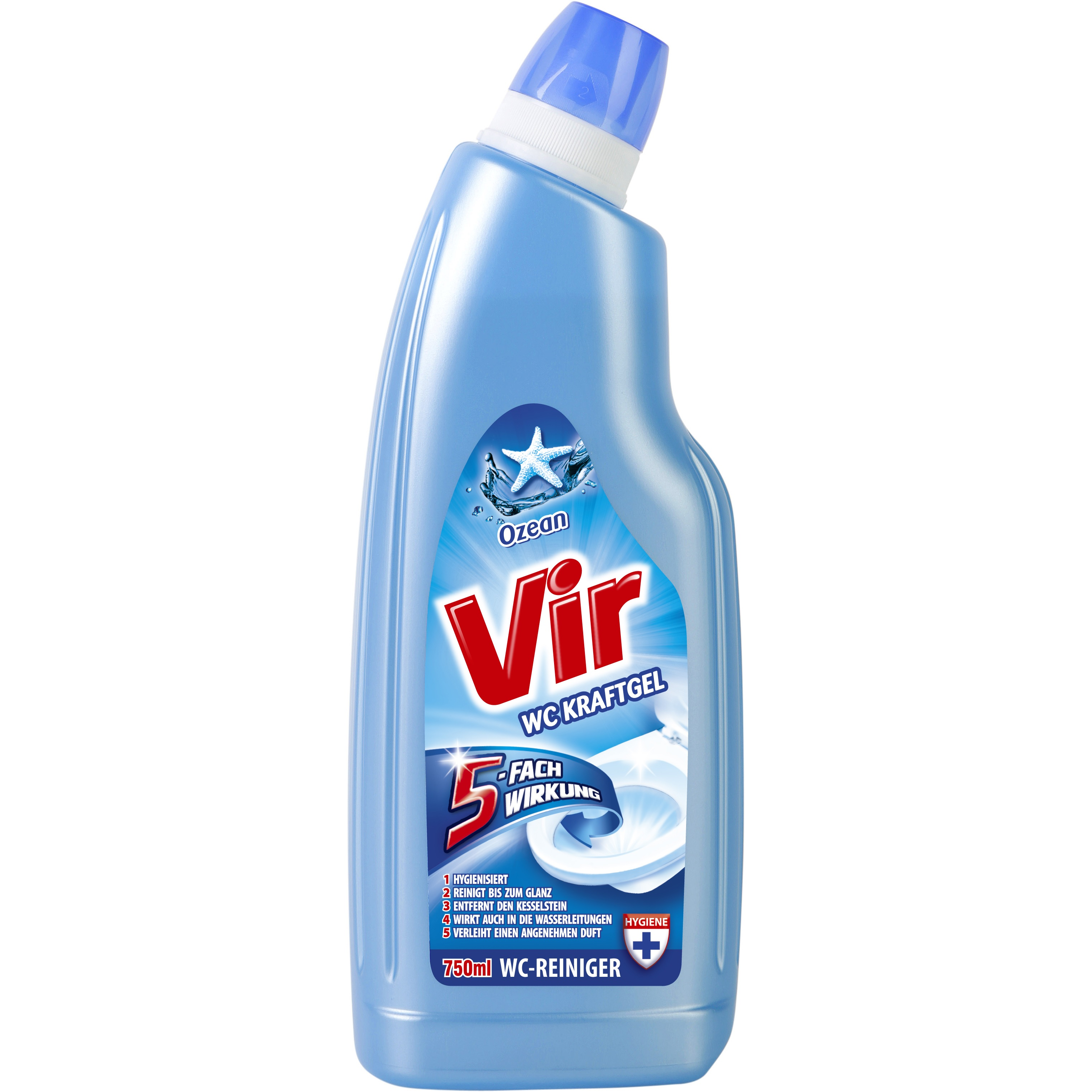 VIR WC GEL OCEAN 750ml