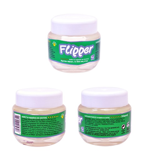 FLIPPER GEL HARD 250ml ΠΡΑΣΙΝΟ
